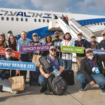 Nefesh B'Nefesh Charter Flight Brings 104 North American Olim to Israel