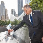 Port Authority Police And the Israeli Consulate Commemorate 9/11 Victims
