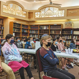 Tenafly Chabad Academy's 9/11 Speaker Inspires Students To Come Closer to Hashem