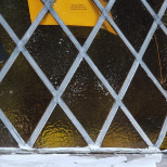 Rocks Crack Teaneck Shul's Stained Glass Window, Kids Mischief Suggested